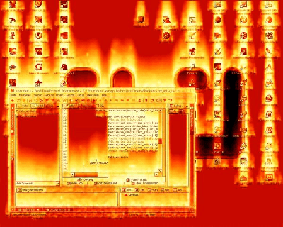 Burning-Screen-Screensaver